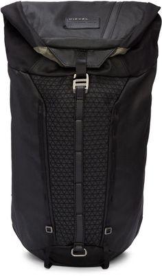 73e72beeaa Diesel - Black M-Rising Backpack Cycling Backpack