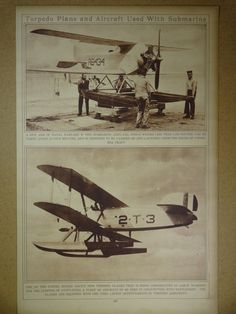1920's Aircraft Airplane Original Vintage History by oddlyends, $18.00
