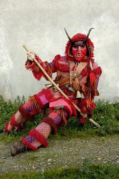 Creative Costumes, Santa Gifts, Future Fashion, Retro Futurism, Character Design References, Folklore, Masquerade, Pagan, Creatures