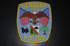 Danbury Police Patch, Fairfield County, Connecticut