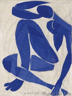 Henri Matisse - Nu Bleu IV