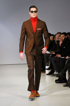 I'd replace the turtleneck whilst keeping the colour. david-hart-new-york-fashion-week-fall-2013-35.jpg