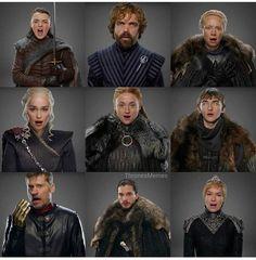 Season 7 costumes!