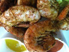 Flora bama sweet peel n eat shrimp warm butter and cinnamon orange zest horseradish cocktail sauce