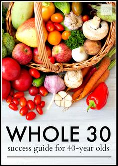 Interested in the Whole 30, but wondering if it is right for you? That's why I created the Whole 30 Success Guide For 40-Year Olds..it talks about is this the right eating plan for you, the steps needed for success and the good, the bad & my results.
