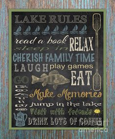 I uploaded new artwork to plout-gallery.artistwebsites.com! - 'Lake Rules-Relax-Blue' - http://plout-gallery.artistwebsites.com/featured/lake-rules-relax-blue-jean-plout.html via @fineartamerica
