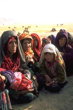 """ The women and children from the Char Aimaq Tribe found in Chaghcharan in Ghor Province. The Aimaq people are among the lesser-known Ethnic Minorities found in Afghanistan ..."