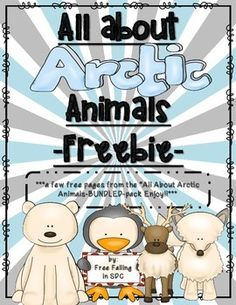 Arctic Animals Freebie: A freebie about arctic animals, including labeling the caribou and arctic fox, polar bears can-have-are, and penguin graphic organizers First Grade Science, Kindergarten Science, Teaching Science, Teaching Habitats, Teaching Ideas, Science Resources, Student Teaching, Science Lessons, Animal Activities