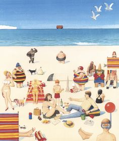 The Visitors Who Came to Stay - Anthony Browne