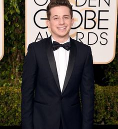 ❤️ Look At Me, Charlie Puth, Suit Jacket, Jackets, Globe Awards, Attends, Fashion, Singers, Gold Globe