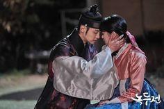 "Jang Dong Yoon y Kim So Hyun comparten un triste beso en ""The Tale Of Nokdu"" Korean Celebrities, Korean Actors, Korean Dramas, Jung Joon Ho, Kdrama, Tae Oh, Good Morning Call, Kim Sohyun, Korean Entertainment News"