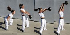 Fitness From Home- kettlebell workout that hacks the fat FAST
