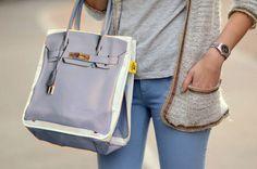 BANANE TAIPEI Beige/Lavender Grey Designer Canvas Print Shopper Tote Bag #BananeTaipei #TotesShoppers #BANANETAIPEI #Beige #LavenderGrey #Designer #Canvas #CanvasPrint #Shopper #Tote #Bag #Hermes #Birkin #3DPhotoPrint