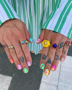 The Blonde Salad, Instagram Summer, Birkenstock Florida, Nails Inspiration, Summer Nails, Manicure, Beauty, Summery Nails, Nail Bar