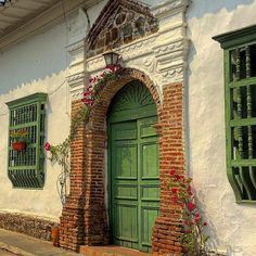 Pueblos Patrimonio de Colombia Colombia Travel, Facades, Latina, Beautiful Places, Destinations, Iphone, Blog, Photography, Painting