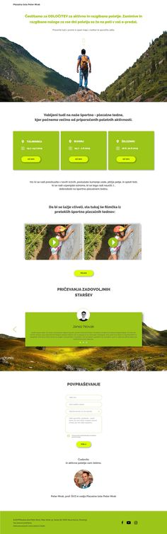 This landing page was designed to promote an active summer for kids trough a schedule that they can download as a gift. The goal was also to make it possible for the school to build an email list. This way they can provide an awesome tips right into the parents inboxes. Images: Pexels Fonts: Raleway, …