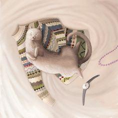 Animals by Varya Kolesnikova, via Behance