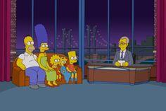David Letterman vai se aposentar, Simpsons prestam homenagem na abertura - Blue Bus
