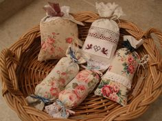 MARIETTE'S BACK TO BASICS: {French Country Style Lavender Sachets & Candy}