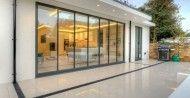 SunSeeker UltraSlim aluminium double-glazed slide-pivot doors