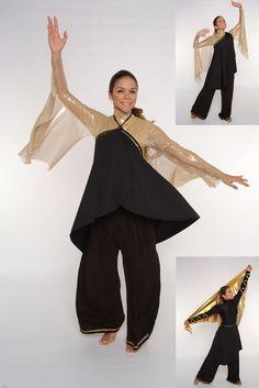 Dance Ministry warfare garment