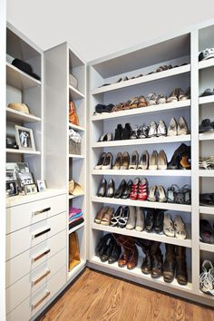 one day all of my shoes will have a home like this...