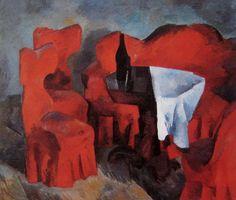 Robert Falk (1886 - 1958), Red Furniture, 1920