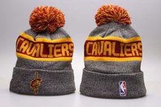 Cleveland Cavaliers Winter Outdoor Sports Warm Knit Beanie Hat Pom Pom 3bfdaa36a6c