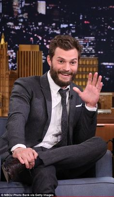 Jamie shows his funny side on US talk show Tonight with Jimmy Fallon