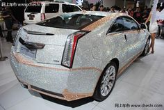 Cadillac CTS Coupe Covered with 350,000 Swarovski Crystals | Oddity Central - Collecting Oddities