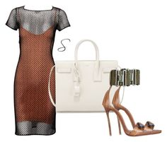 """Untitled #359"" by styledbystephxx on Polyvore featuring Alaïa, Yves Saint Laurent and Dsquared2"