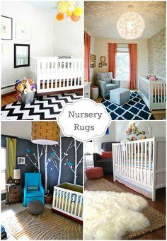 Nursery rugs plus more nursery design resources