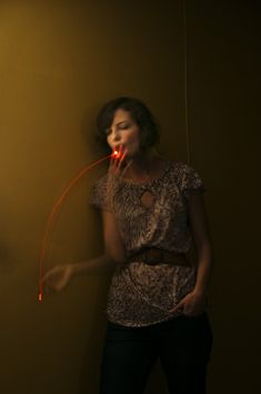 Ginger smokes -- Long exposure by Shannon Taggart