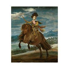 Giclee Print: Prinz Balthasar Carlos Zu Pferde Art Print by Diego Velázquez by Diego Velazquez : Art Prints, Canvas Prints, Prince Art, Painting, Painting Prints, Art, Canvas Art, Framed Art Prints, Kids Art Wall Frames