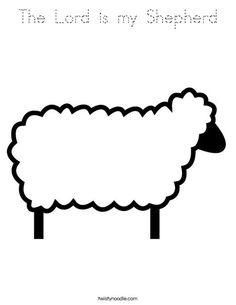 Coloring page Sheep img 17588 cute Fun School Stuff