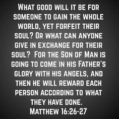 Everyone will get their just reward. #SeekTheTruth #JesusSaid