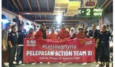 Untuk Aleppo, Tim SOS for Suriah XI Berangkat!
