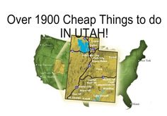 Over 1,900 Cheap and Free Things to Do (In Utah) During Summer Vacation  www.itswrittenonthewall.com