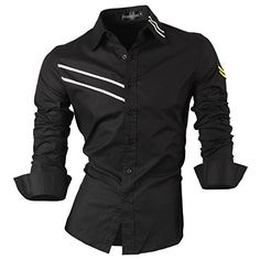 Spring Autumn Features Shirts Men Casual Jeans Shirt New Arrival Long Sleeve Casual Slim Fit Male Shirts Casual Jeans, Casual Tops, Men Casual, Stylish Shirts, Casual Shirts, Camisa Slim, Denim Shirt, Shirt Style, Men Dress