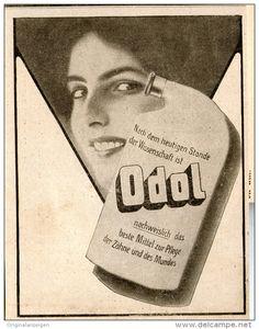 Original-Werbung/Inserat/ Anzeige 1914 - ODOL - ca. 135 X 90 mm