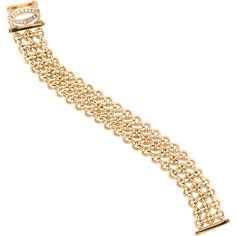 Pre-owned Cartier Penelope Link Bracelet found on Polyvore featuring jewelry, bracelets, cartier bangle, cartier jewelry, preowned jewelry, cartier jewellery and 18k jewelry