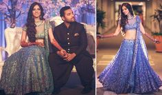 Bride- Nishka Lulla Designer- Neeta Lulla  Photo Courtesy- WeddingNama — with Dhruv Mehra and Nishka Lulla Mehra.