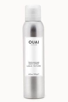 """""""I have tried every texture spray on the market, and this is by far the best one I have ever sprayed in my beachy waves. It adds just the right amount of definition, hold, separation, and grit — without looking or feeling like a sticky mess. I am obsessed."""" — Cat Quinn, beauty directorOuai Texturizing Hair Spray, available at Ouai.  #refinery29 http://www.refinery29.uk/professional-favorite-beauty-products#slide-4"""