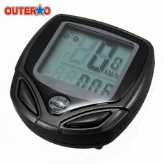 Waterproof Wireless Bike Bicycle Computer Mountain Bike Computer LED Odometer Speedometer Accessories