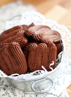 Pierre Hermes Viennese Chocolate Sables