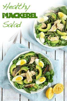 Healthy Mackerel Salad