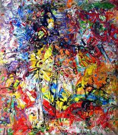 """Saatchi Art Artist Igor Eugen Prokop; Painting, """"YELLOW  ANGEL"""" #art"""