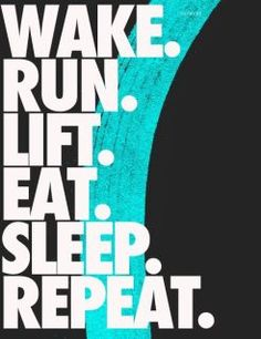 And repeat.