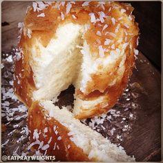 Coconut Caramel Mugcake