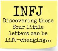 INFJ discovering those four little letters can be life-changing ...